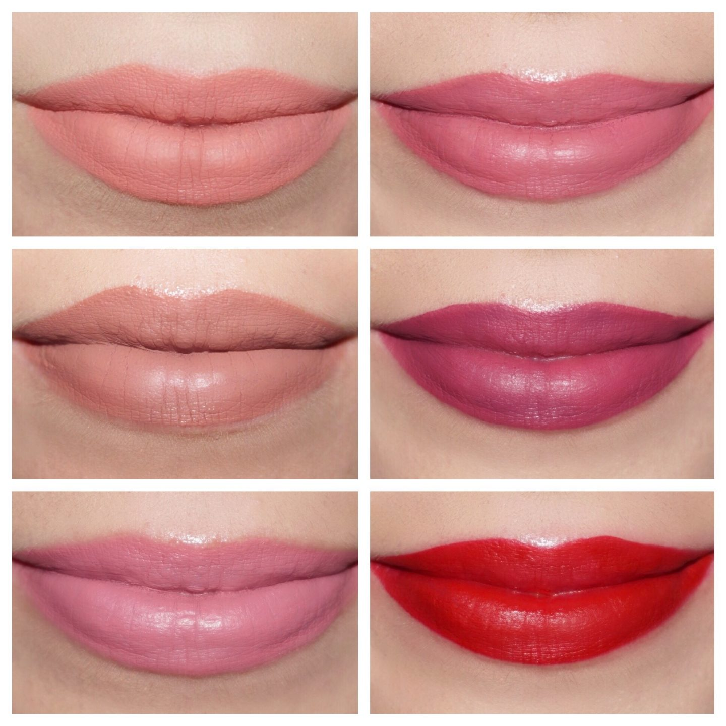 Kylie Cosmetics Valentine Collection Mini Liquid Lipstick Swatches
