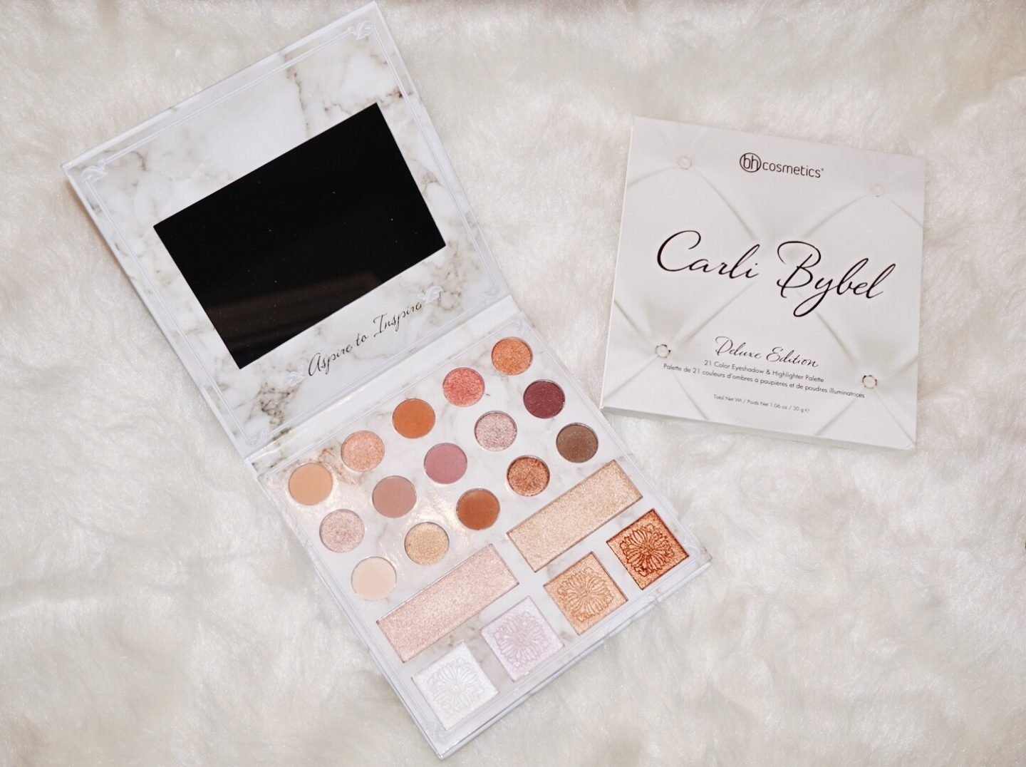 Carli Bybel Deluxe Edition Palette Review & Swatches