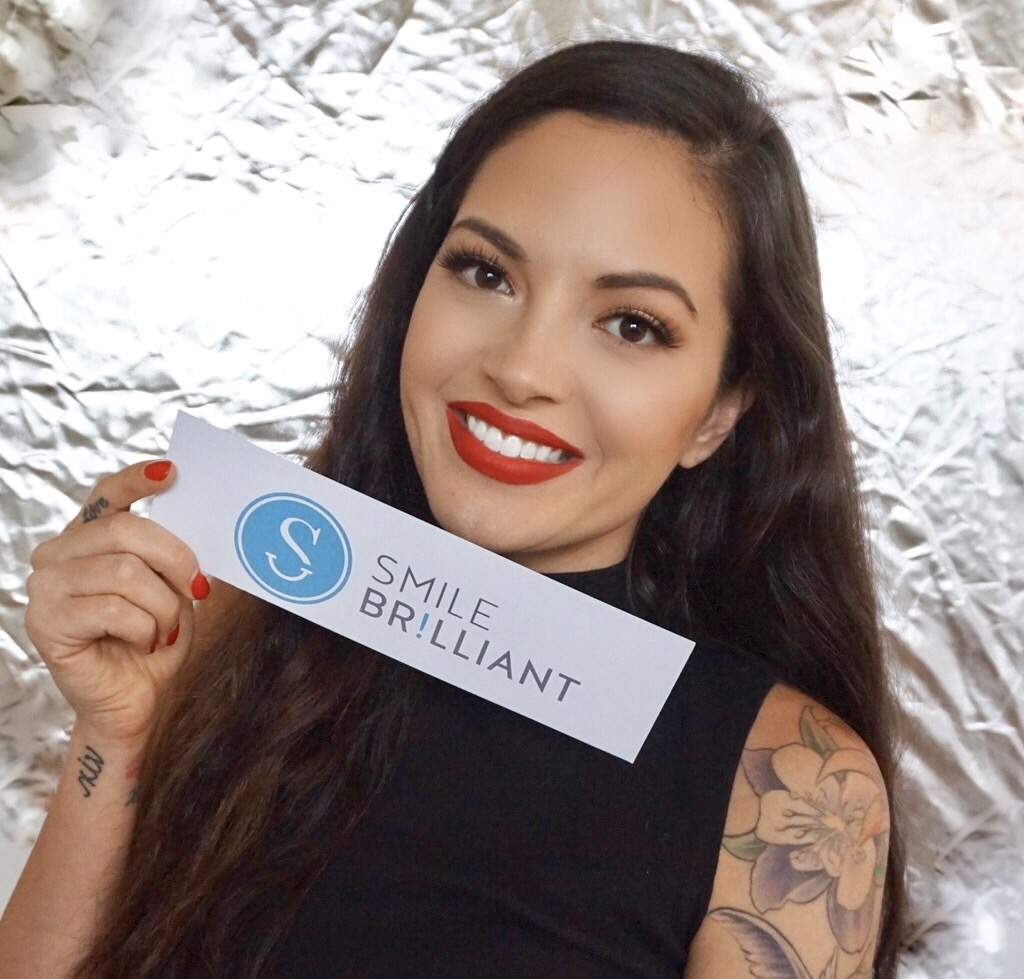 Professional Teeth Whitening at Home with Smile Brilliant& Giveaway